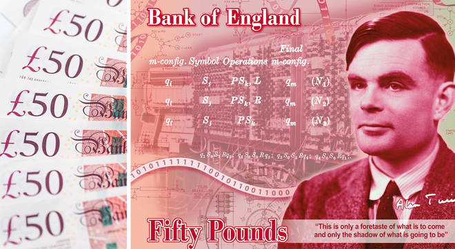 Alan Turing has been confirmed on the new £50 note