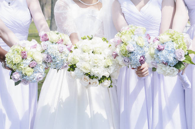 The shocking tale was shared to a wedding shaming group (stock image)