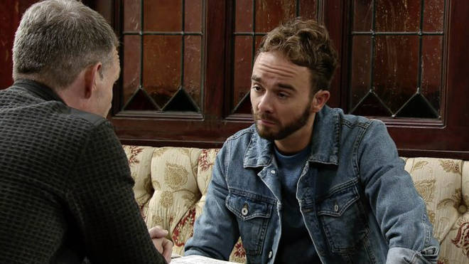 Jack P Shepherd could be the centre of an exciting 60th anniversary episode