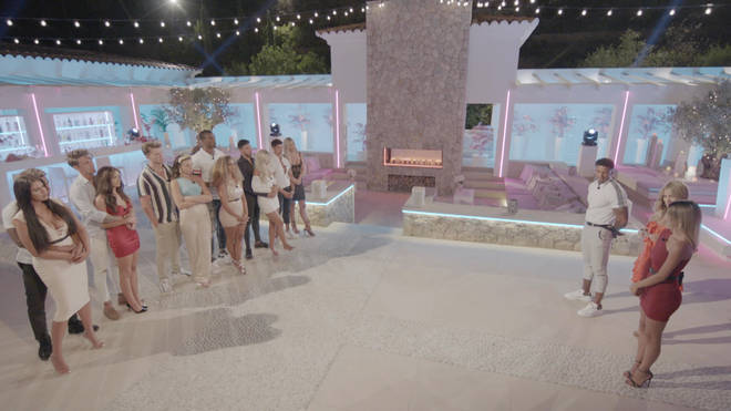 The Love Island contestants decided Joanna's journey on the show had come to an end