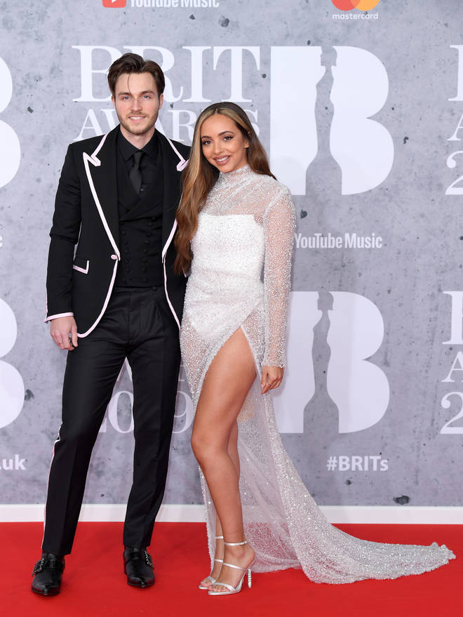 Jed Elliott and Jade Thirlwall attended The BRIT Awards together earlier this year.