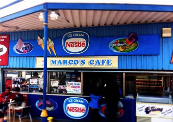 Stacey works at Marco's Coffee & Ice Cream Bar in Barry Island.