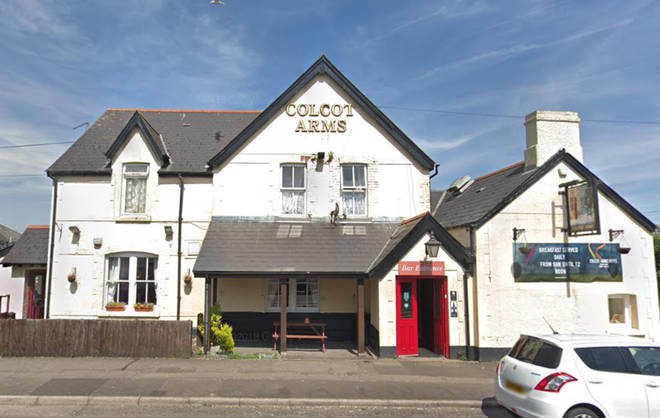 Smithy's famous drunken quiz night took place at the Colcot Arms in Barry.