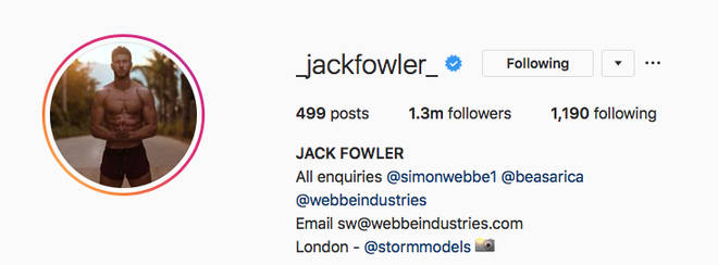 Jack's management is in his bio