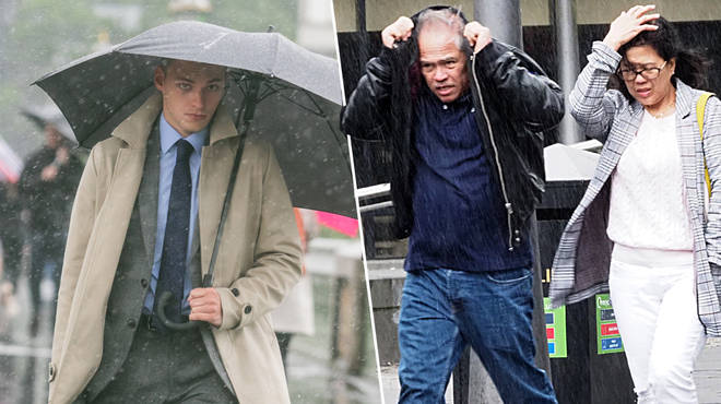 UK weather: Met Office warns Brits will be battered by heavy rain and thunderstorms this weekend