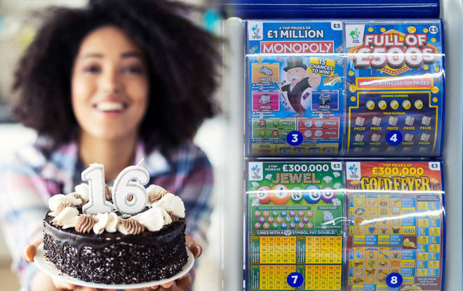 Lottery scratchcards' minimum age to be raised to 18 in new government plans