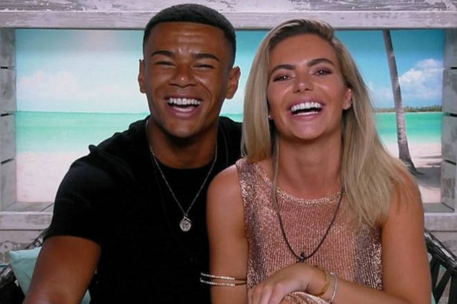 Wes Nelson was coupled up with Megan on last year's Love Island