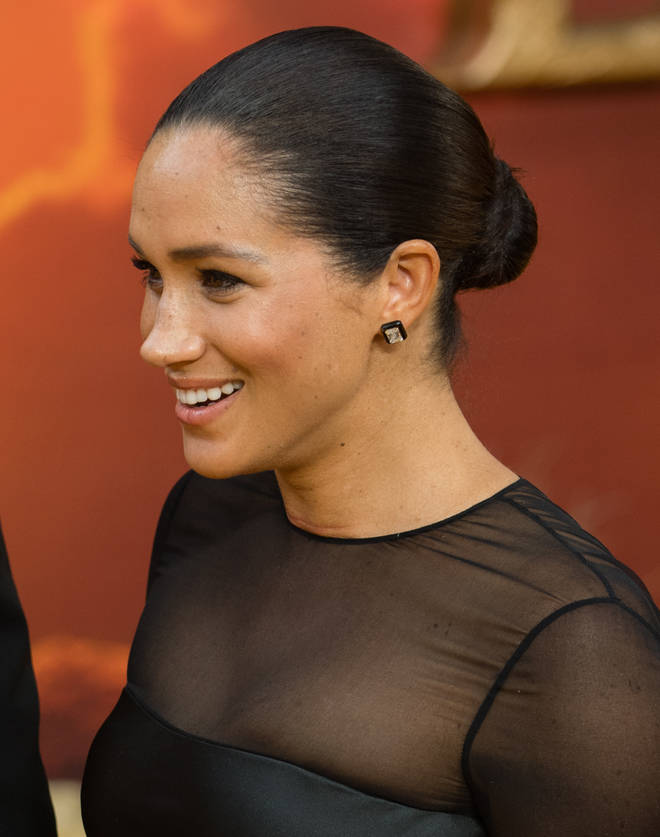 Meghan Markle has recently been favouring a tight and tidy up-do