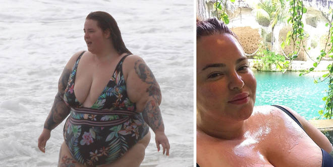 Tess Holliday shuts down bodyshamers with skimpy beach pics