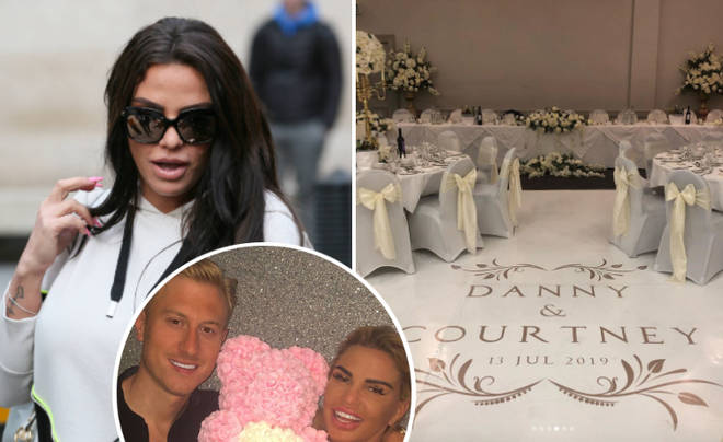 "Katie Price was allegedly accused of ""upstaging"" the wedding of boyfriend Kris&squot;s cousin Dan."