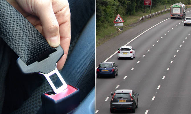 Drivers not wearing a seatbelt could face penalty points and have their licence removed