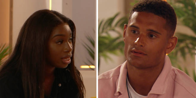 Danny and Yewande were coupled up on this series of Love Island