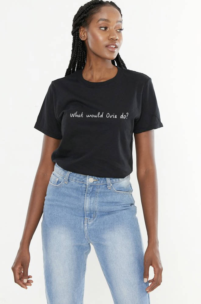 You can also grab a 'What would Ovie do?' style