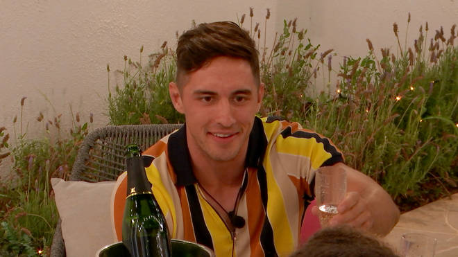 Greg took Amber on a date when he entered the Love Island villa