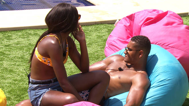 Danny and Yewande were originally coupled up on Love Island