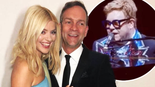 "Holly Willoughby said the moment was a ""dream come true"""