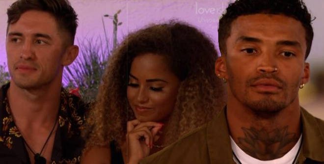 Love Island fans were over the moon with Amber's decision