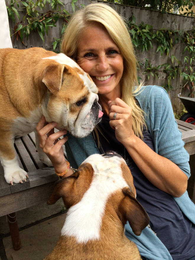 """Ulrika Jonsson has credited her dogs for """"helping save her life"""""""