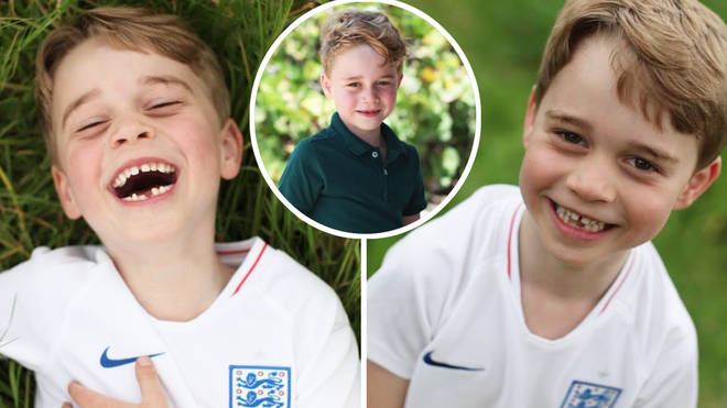 Prince George looks adorable in the new pictures