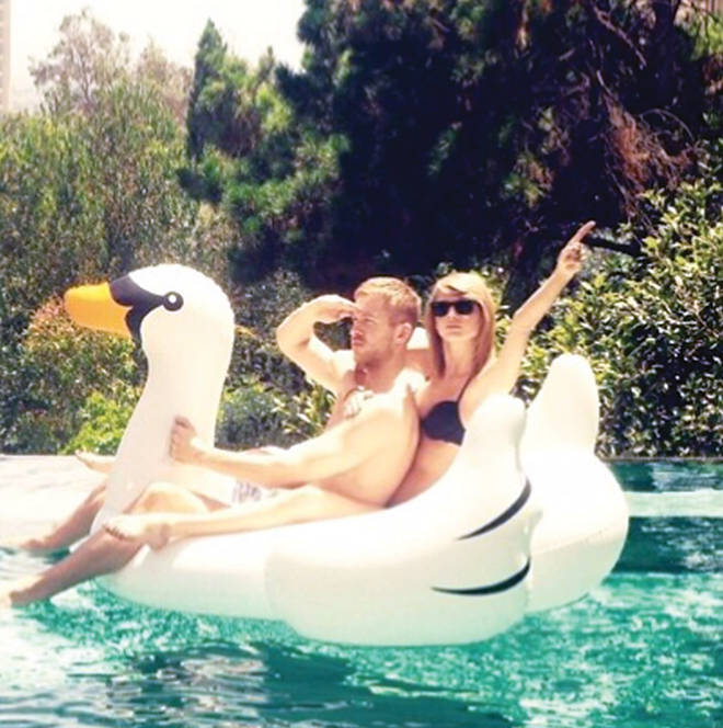 Taylor Swift's epic 2015 pool party with ex Calvin Harris saw a surge in inflatable sales