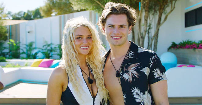 Lucie and Joe were coupled up before Joe was dumped from the island