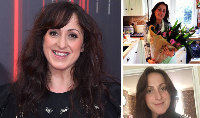 Natalie Cassidy shares her house with her fiancé and two children