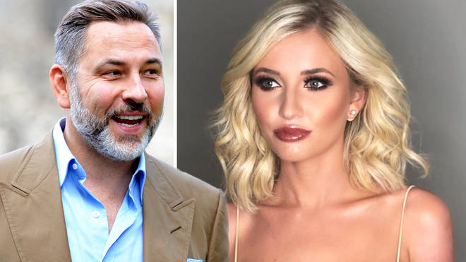 David Walliams offered support to the Love Island star following her exit
