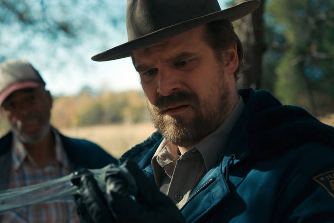 David Harbour plays Sheriff Jim Hopper in Stranger Things.