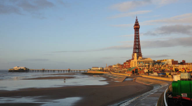 The seaside town of Blackpool came in seventh place