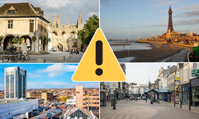 The 10 worst places to live in England revealed - and the results may surprise you!