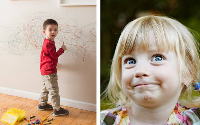 The naughtiest kids names have been revealed