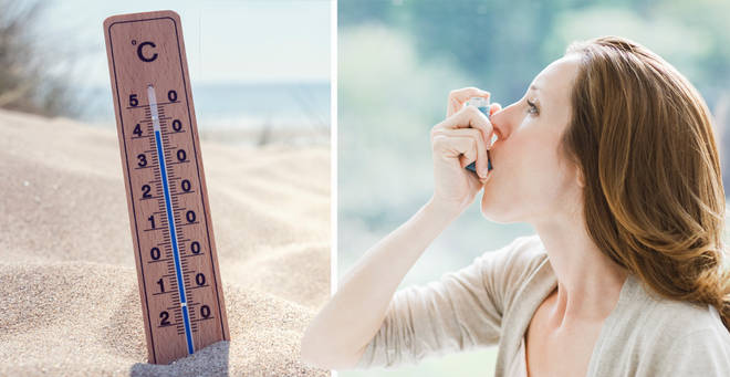 UK weather: Experts issue 'DEADLY' asthma attack warning as 37C heatwave sweeps Britain