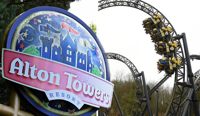 Alton Towers visitors were left hanging from rollercoaster The Smiler for twenty minutes after it stalled