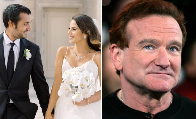 Robin Williams' son Cody married his wife Maria on 21st July at the family home.