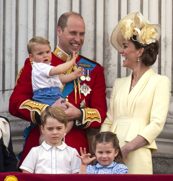 Prince George is third in line to the throne after Prince Charles and Prince William