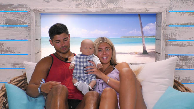 Belle and Anton name their Love Island baby Valentino