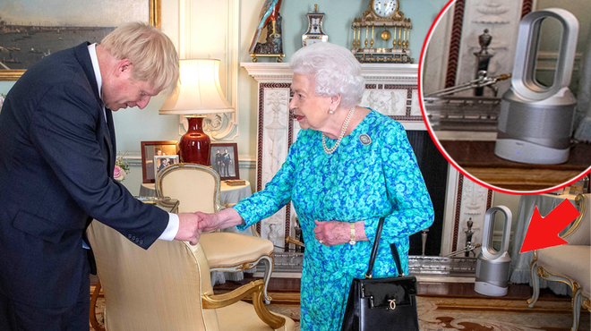The Queen uses this £550 Dyson fan to keep cool at home at Buckingham Palace