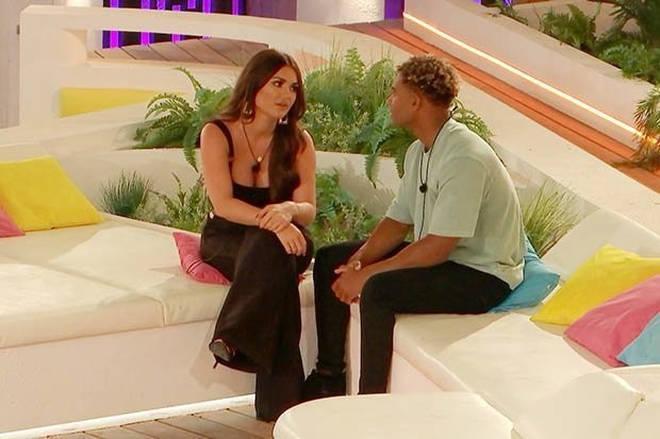 Jordan was caught flirting with co-star India Reynolds.