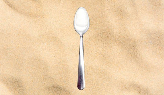Another teaspoon should be added to your back