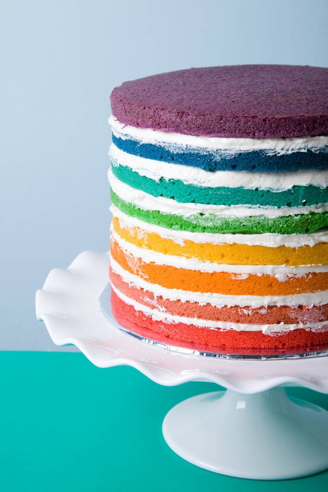 This rainbow cake is impressive - and a project anyone can do