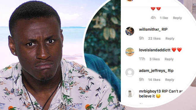 Love Island's Sherif Lanre becomes victim of twisted death hoax