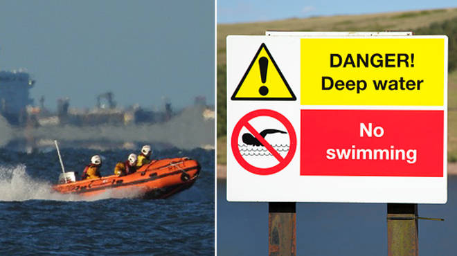Public warned not to swim in open water during the heatwave after 3 people drown