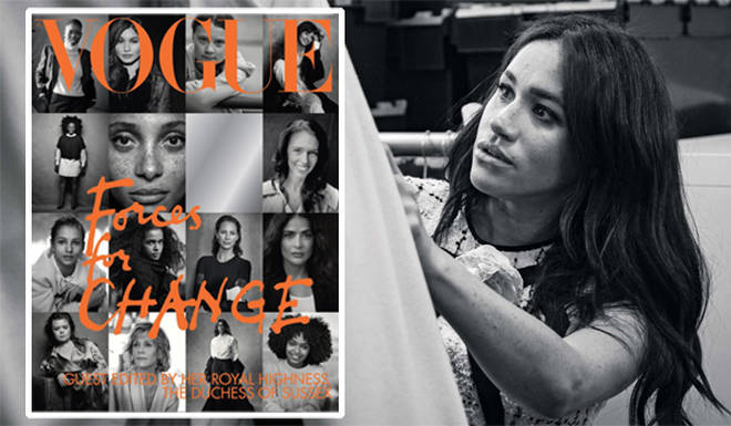 The Duchess of Sussex as become the first person ever to guest edit the September issue of Vogue