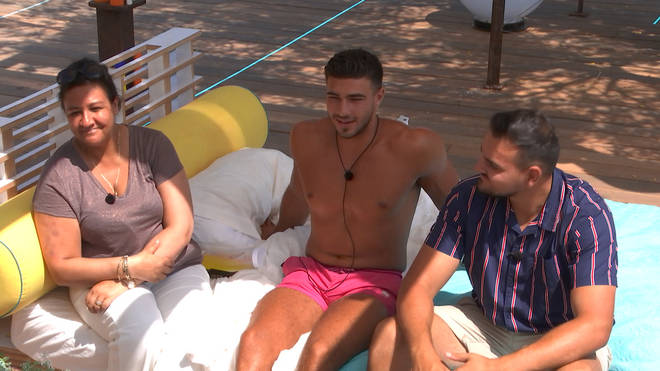 Tommy's mum and brother appeared on Love Island last night