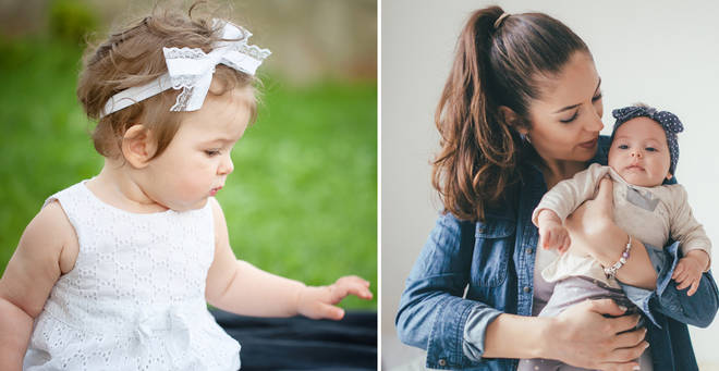 One mum has expressed her concern over babies wearing bows