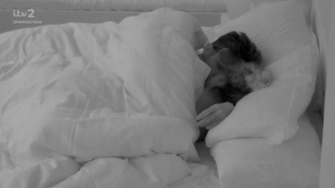 Amber and Greg sparked rumours that they slept together in a recent episode