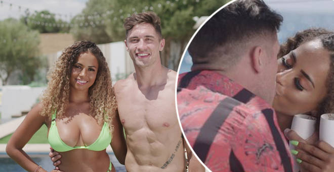 Greg and Amber are finalists on Love Island 2019