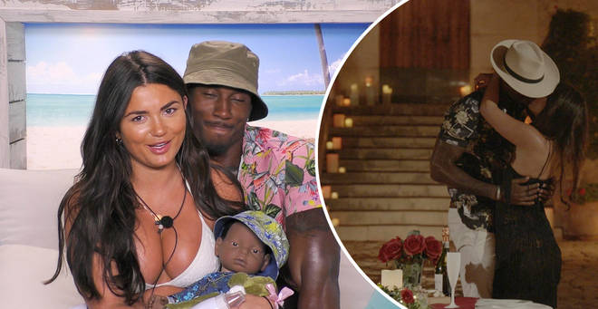 Ovie and India are Love Island series five finalists