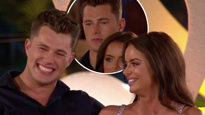 Love Island's Curtis Pritchard and Maura Higgins came in fourth place