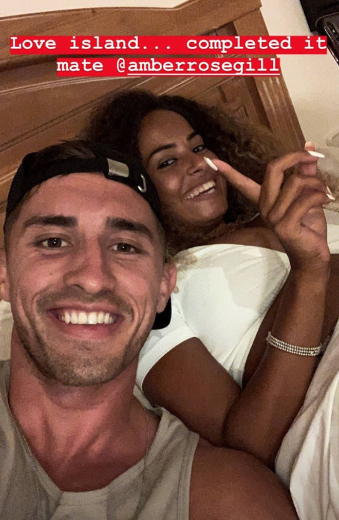 Amber and Greg have now become official
